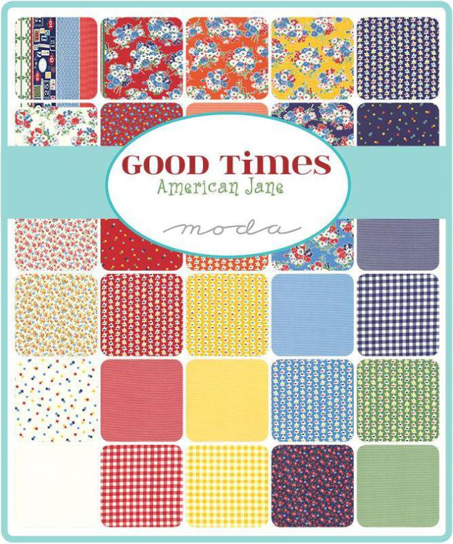 Charm Pack Good Times by American Jane (16288)
