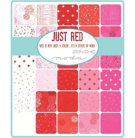 Jelly Roll Just Red by Brigitte Heitland Zen chic (16291)