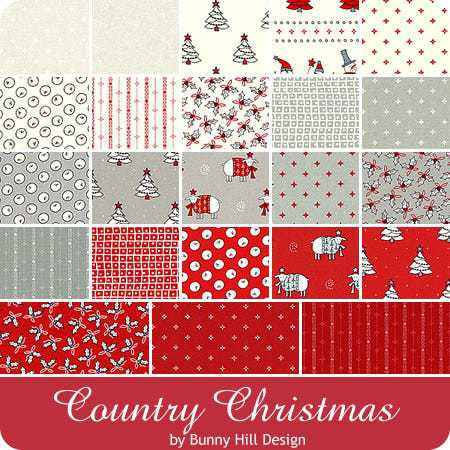 Jelly Roll Country Christmas by Bunny Hill Designs (16312)