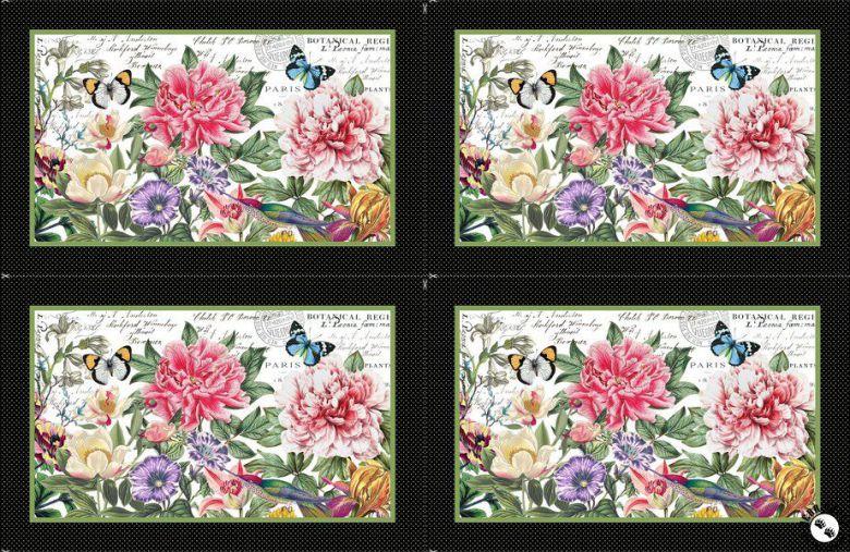 Botanica 4 bordstabletter (16329)