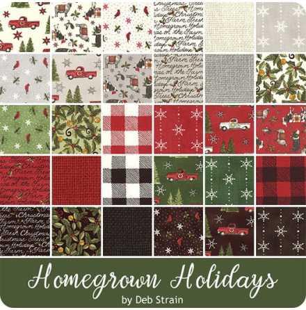Charmpack Homegrown Holidays (16395)