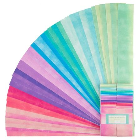 Jelly Roll Ombre Washart Warm by Wilmington Prints (16408)