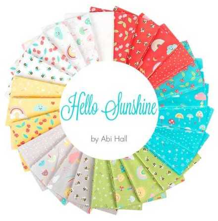 Jelly Roll Hello Sunshine by Moda Abi Hall (16537)