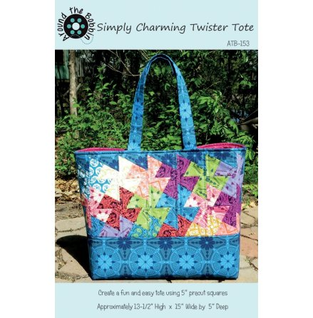 Simply Charming Twister Tote (16564)