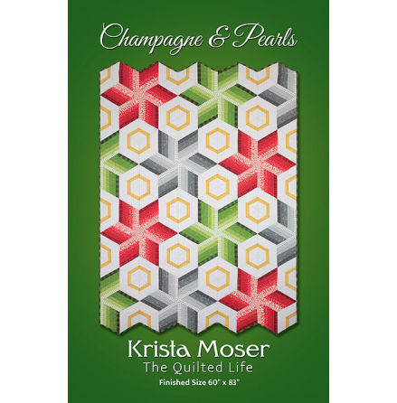 Champagne and Pearls mönster av Krista Moser (16631)