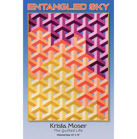 Entangled Sky mönster av Krista Moser (16633)