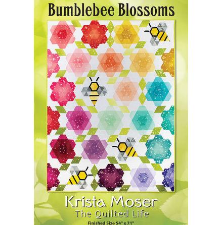 Bumblebee Blossom mönster av Krista Moser (16636)