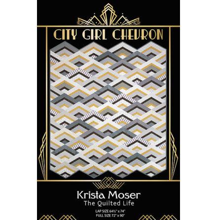 City Girl Chevron mönster av Krista Moser (16637)