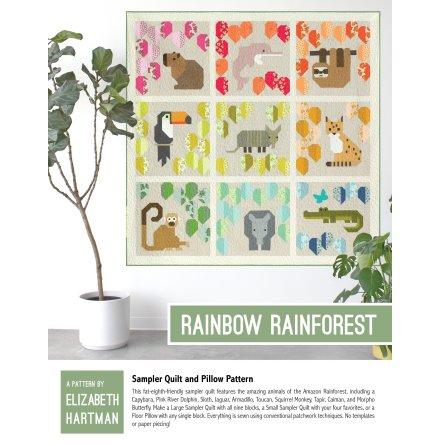 Rainbow Forest mönster från Elizabeth Hartman (16641)