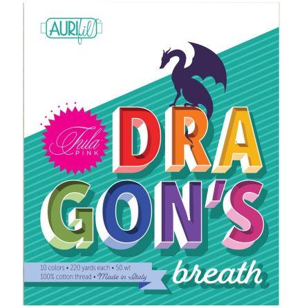 Tula Pink Dragons Breath Aurifil tråd (16655)