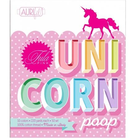 Tula Pink Unicorn Poop Aurifil tråd (16656)