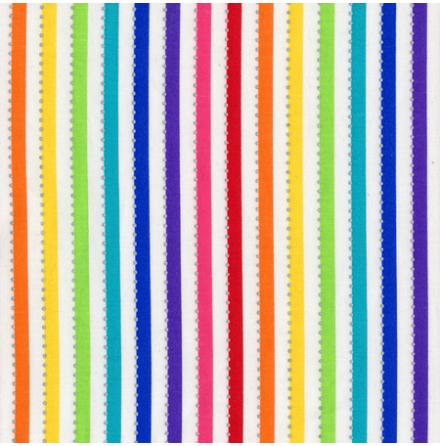 White Rainbow med silverprickar (16660)