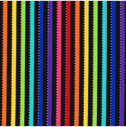Black Rainbow med silverprickar (16661)